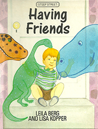 Leila Berg - Having Friends cover