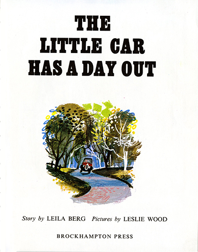 The Little Car has a Day Out inside cover_400