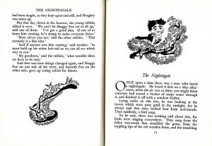 Leila Berg - The Nightingale spread