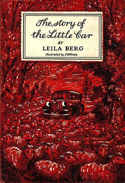 The Story of the Little Car book cover - Leila Berg
