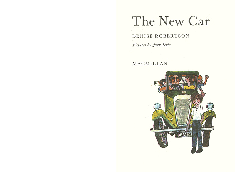 Denise Robertson - The New Car